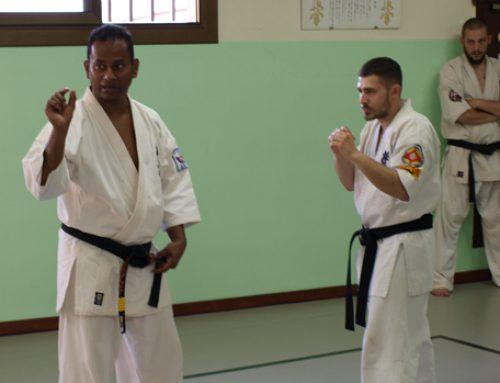 XXV HARU GASSHUKU 2017: Shihan Prasanna Fernando; Taikiken y Kumite