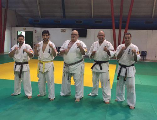 Curso de Kyokushin Karate en la Maison du Judo et des Arts Martiaux de Toulouse (Francia) impartido por Shuseky Shihan P.L. Beltran
